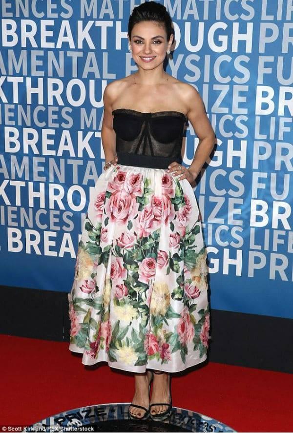 Mila Kunis 2018 Breakthrough Prize NASA