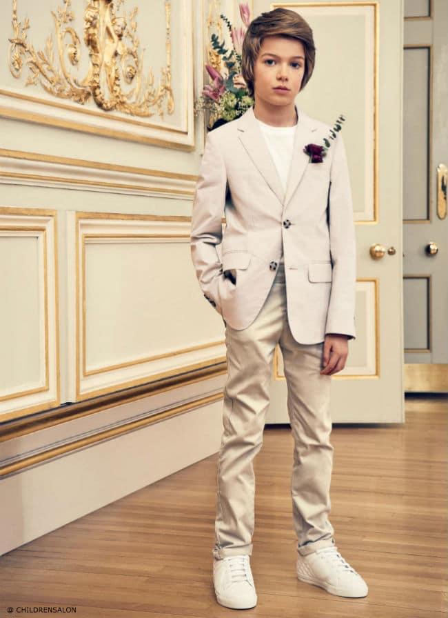 The Wedding Edit by Childrensalon - Burberry Blazer Mayoral Pants