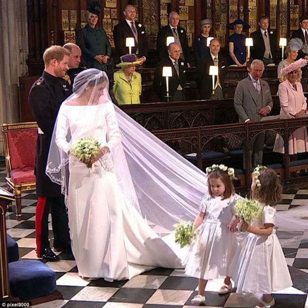 Meghan Markle Bridesmaids Princess Charlotte