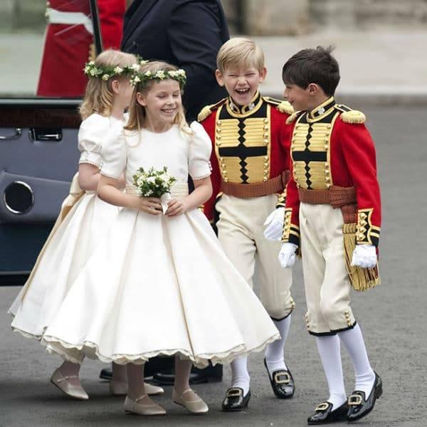 Prince William Kate Middleton Royal Wedding Flower Girls