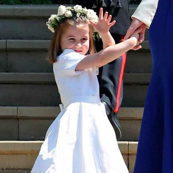 Princess Charlotte Bridesmaid Meghan Harry Royal Wedding