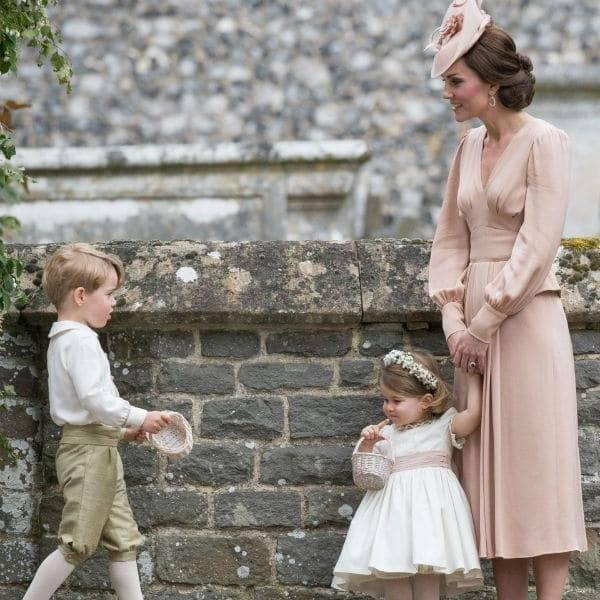 Princess Kate Prince George Princess Charlotte Pippa Middleton Wedding