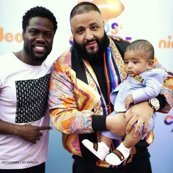 DJ KHALED Asahd Gucci Baby Boy Suit Nickelodean