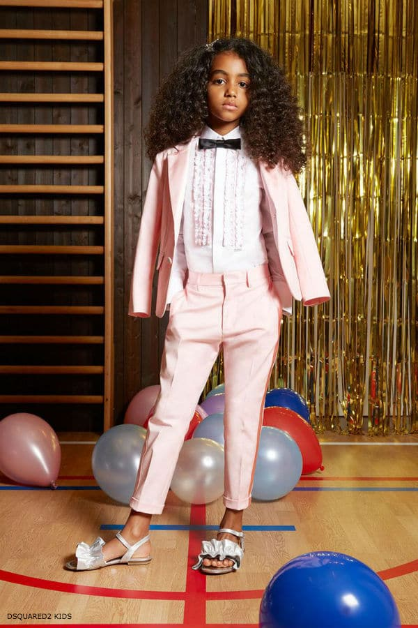 DSQUARED2 Kids 5th Anniversary Girls Prom Capsule Collection