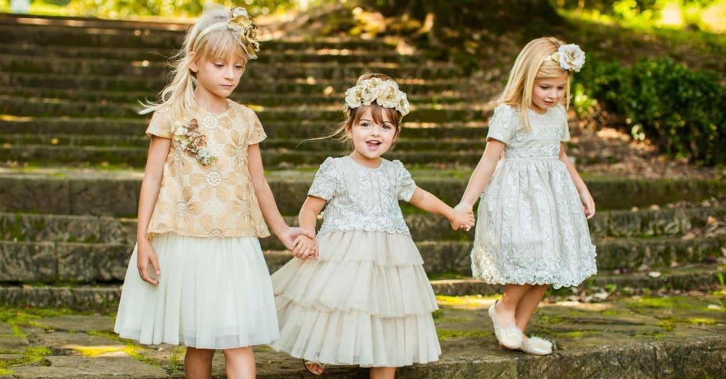 Graci Girls Flower Girls Dresses from Spain