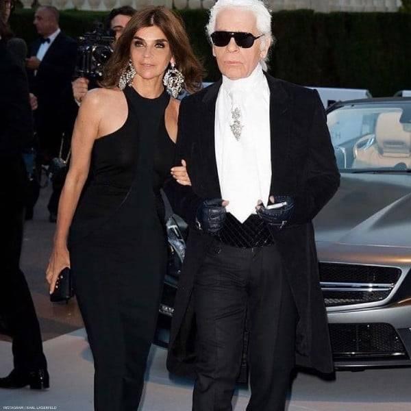Karl Lagerfeld & Carine Roitfeld  Fashion Collaboration Fall 2019