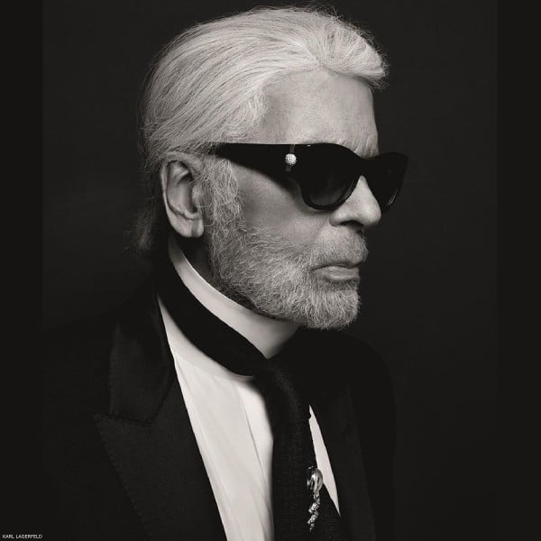 Karl Lagerfeld Fashion Icon RIP