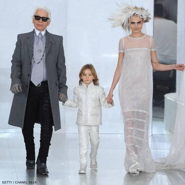 Karl Lagerfeld Hudson Kroenig Cara Delevingne Chanel SS14