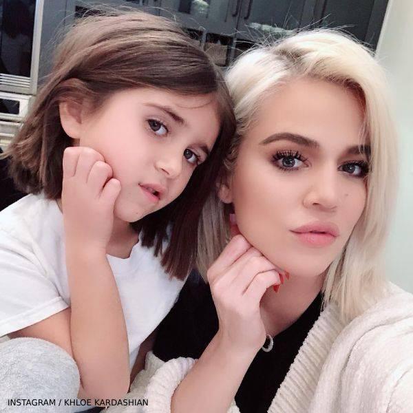 Penelope Disick Khloe Kardashian Twin Blunt Bob Mini-Me Hairstyle