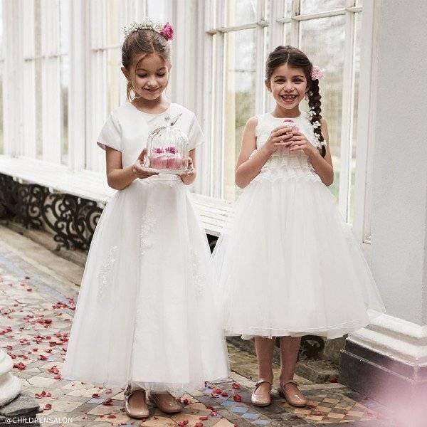 Romano Princess Ivory Tulle Party Dress & Bolero Set