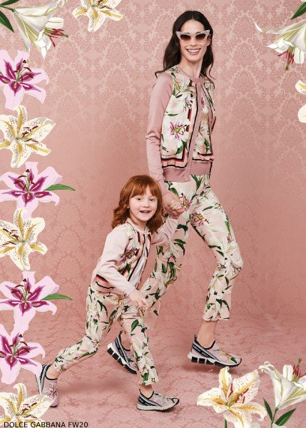 Dolce Gabbana Girl Mini Me Liluim Collection Winter 2020