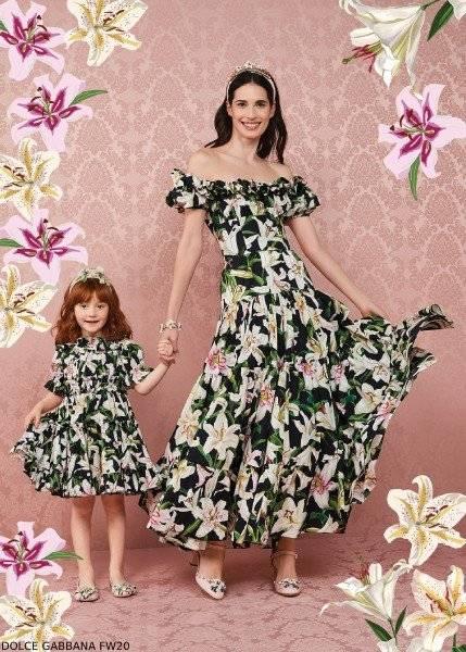 Dolce Gabbana Girls Mini Me Liluim Collection Winter 2020.jpg