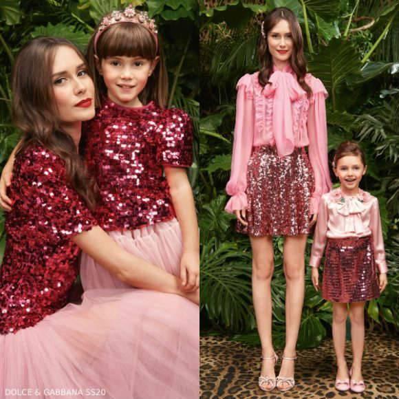 Dolce Gabbana Love Christmas Collection 2020 Dolce & Gabbana Girl Mini Me Christmas 2020 Trend | Dashin Fashion