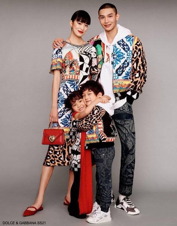 Dolce Gabbana Famliy Kids Chinese New Year 2021
